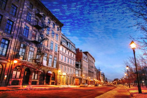 Old Montreal City 01 - Stock Photos, Pictures & Images