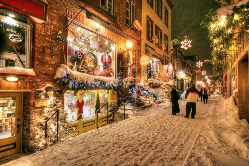 Old Quebec City District Alley - Stock Photos, Pictures & Images