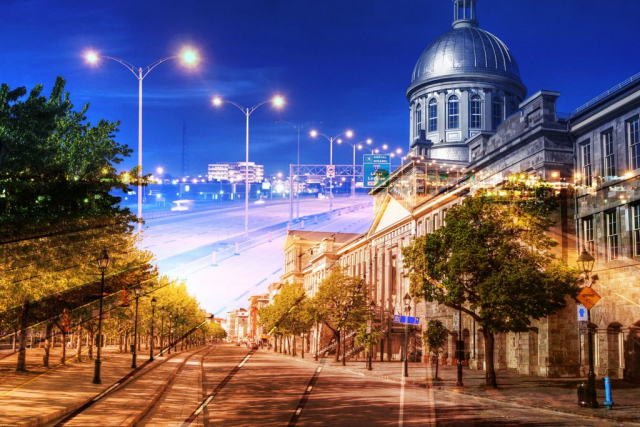 Bonsecour Market in Montreal - Stock Photos, Pictures & Images
