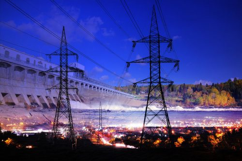 Electric Dam 01 - Stock Photos, Pictures & Images