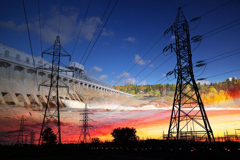 Electric Dam 02 - Stock Photos, Pictures & Images