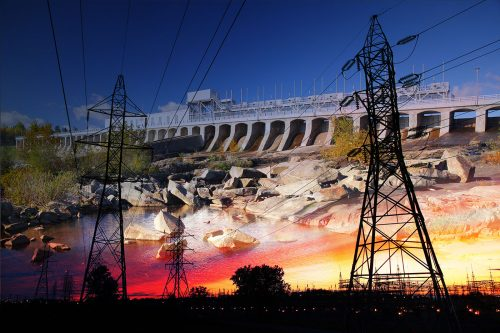 Electric Dam 03 - Stock Photos, Pictures & Images