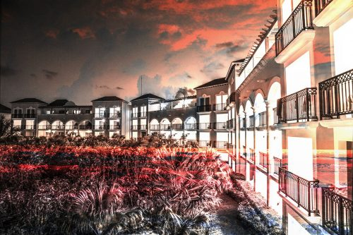 Hotel Resort Photo Montage 02 - Stock Photos, Pictures & Images