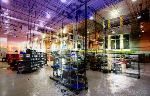 Industry Interior Photo Montage - Stock Photos, Pictures & Images
