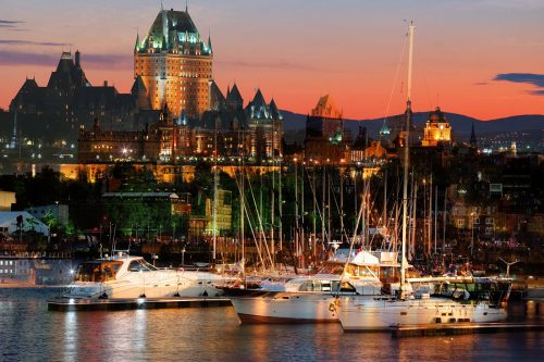 Quebec City Marina - Stock Photos, Pictures & Images