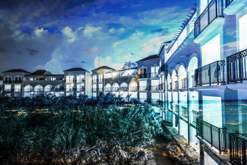 Hotel Resort Photo Montage 03 - Stock Photos, Pictures & Images