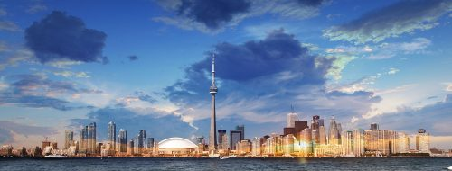 Toronto City Daytime Skyline - Stock Photos, Pictures & Images