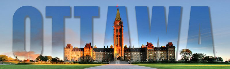Federal Parliament with Ottawa Text 1 - Stock Photos, Pictures & Images