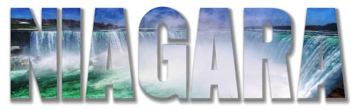Niagara Text 2 - Stock Photos, Pictures & Images