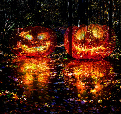Halloween Scary Wood 3 - Stock Photos, Pictures & Images