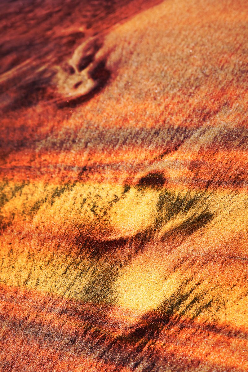 Abstract Footpath in Sand - Stock Photos, Pictures & Images
