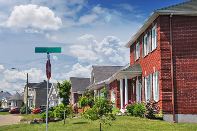 Quiet Neighborhood - Stock Photos, Pictures & Images