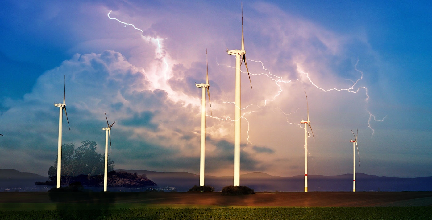 Windmill Energy Production 01 - Stock Photos, Pictures & Images