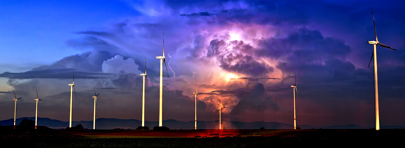 Windmill Energy Production 02 - Stock Photos, Pictures & Images