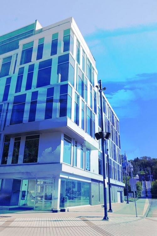Street Corner Office Building 01 - Stock Photos, Pictures & Images