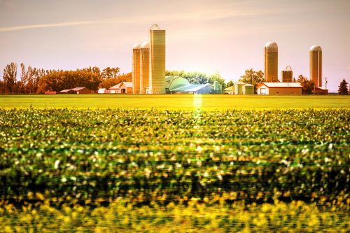 Modern Farmland and Agriculture Real Estate - Stock Photos, Pictures & Images