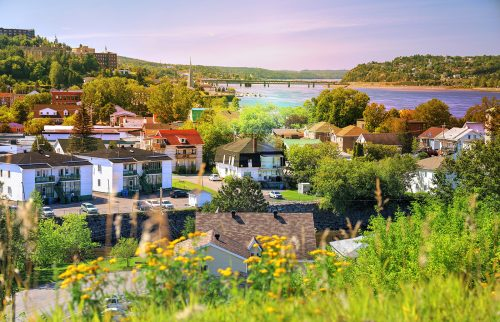 Saguenay City Neighborhood - Stock Photos, Pictures & Images