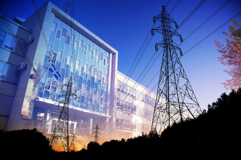 Commercial and Public Building Energy Efficiency - Stock Photos, Pictures & Images